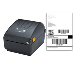 Afbeelding van Imprimante DPD Zebra ZD220D + 1 000 étiquettes d'expédition